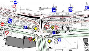 Проектирование примыкания к автомобильной дороге